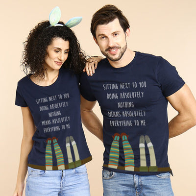 Next To You, Matching Couple Tees