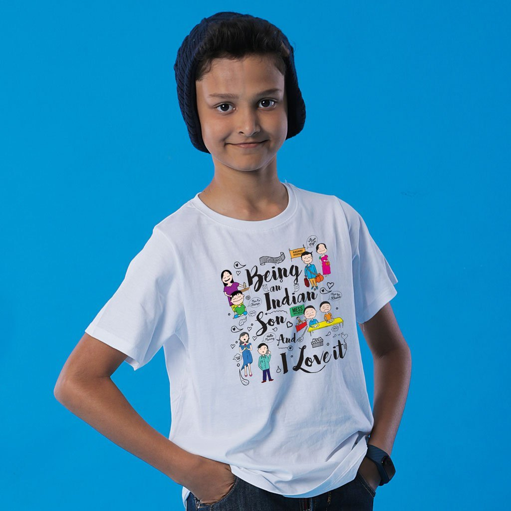 Being An Indian Mom Son Tees
