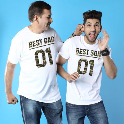 Best Dad And Son Matching Adult Tees