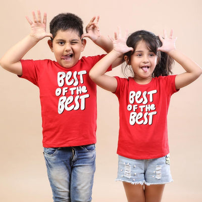 Best Of The Best, Matching Tees For Brother And Sister