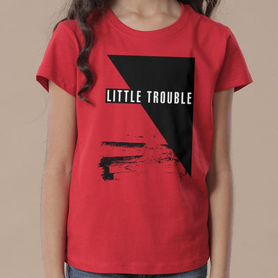 Trouble, Mom And Daughter Matching Tees