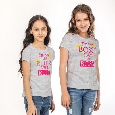 Boss & Ruler Combo Tee for Sisters