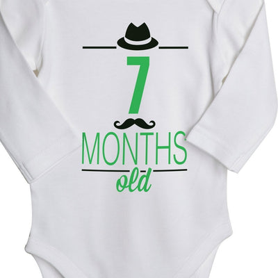 7 Months Old, Bodysuit For Baby