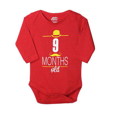 9 Months Old, Bodysuit For Baby