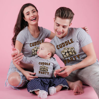 Cuddle Party Bodysuit and Tees