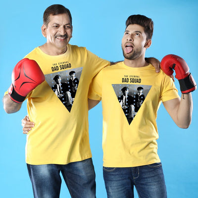 Dad Squad Dad And Son Matching Adult Tees