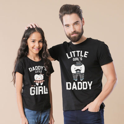 Daddy's Little Girl Father And Daughter Tees