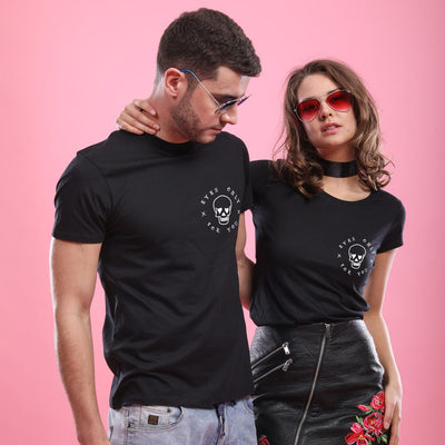 I 've got my eyes on you! (Black) Matching Couple Tees