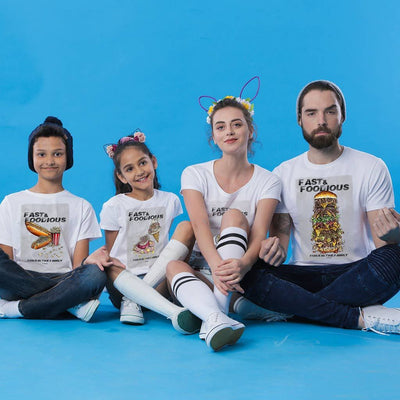 Fast and the Foodious Runs in the Family Tees