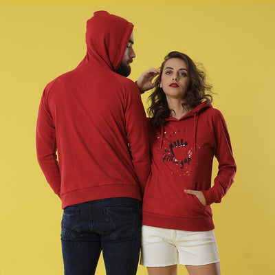 Fill The Gap, Matching Hoodies Set For Couples