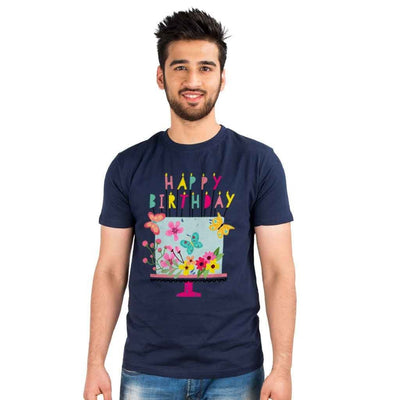 Birthday Flower Cake Family Tees