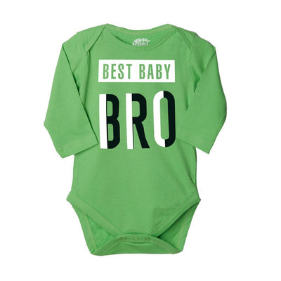 Baby Bro,Set Of 3 Assorted Bodysuits For The Baby