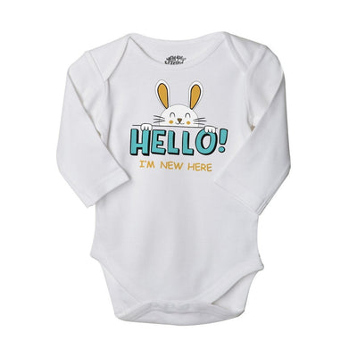New Baby, Set Of 3 Assorted Bodysuits For The Baby
