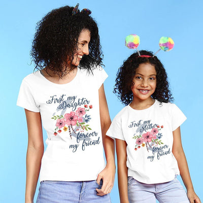 Forever My Friend Mom & Daughter Tees