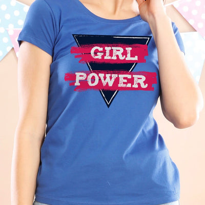Girl Power Mom And Daughters Tees