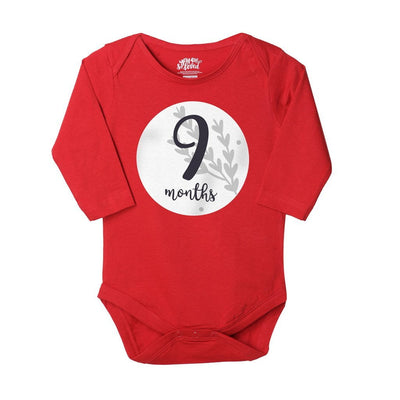 7-8-9, Set Of 3 Assorted Bodysuits For Baby
