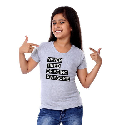 Never Tired of being awesome Family Tees