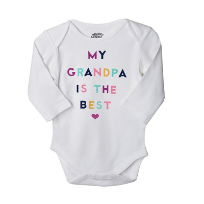 Team Grandparents, Set Of 3 Assorted Bodysuits For The Baby