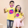 Happy Holi , Matching Siblings Tees