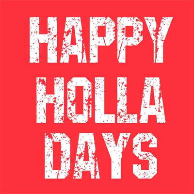 Happy Holla Days Family Tees