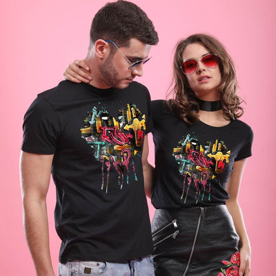 Splash Heart,  Matching Tees For Couples