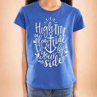 High Tide Or Low Tide Mom And Daughters Tees