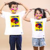 Holi On My Mind,  Matching Bro & Sis Holi Tees