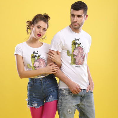 Hug Dealer, Matching Couple Tees