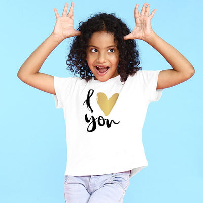 I Love You Mom & Daughter Tees