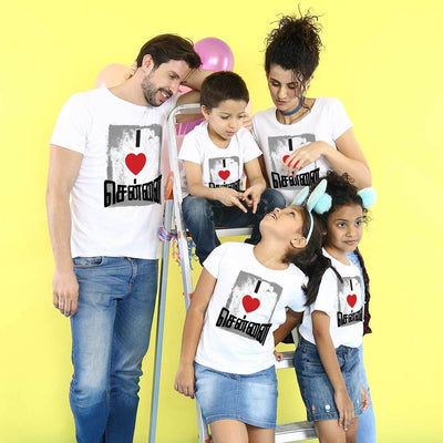 I Love Chennai, Matching Tees For Family