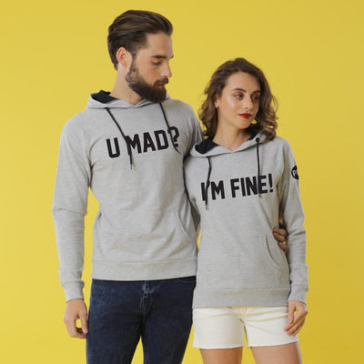 I'm Fine! Matching Hoodies For Couples