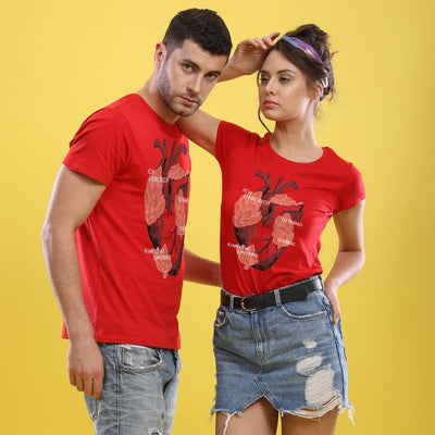 Language Of Love, Matching Couple Tees