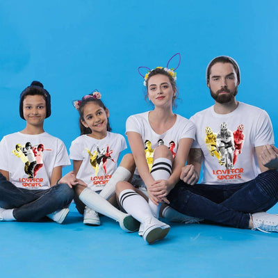 Love For Sports Family Tees