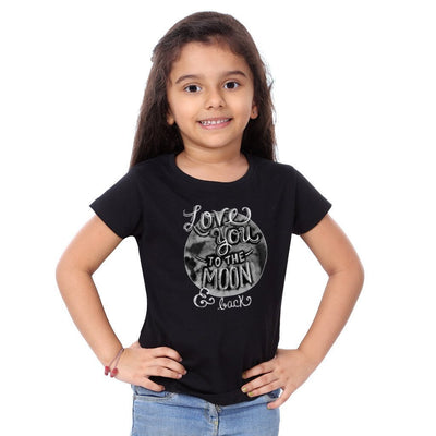 Love You To The Moon Family Tees