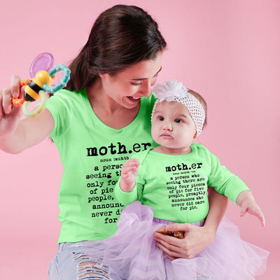MOTHER mom & daughter bodysuit and tees