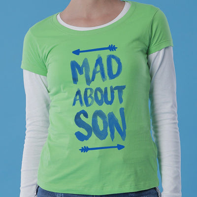 Mad About Mom And Son Tees