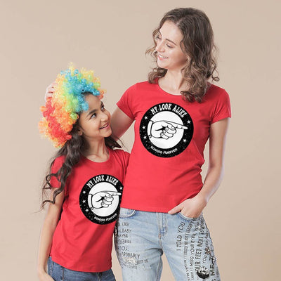 Mother-Daughter My Look Alike Tees
