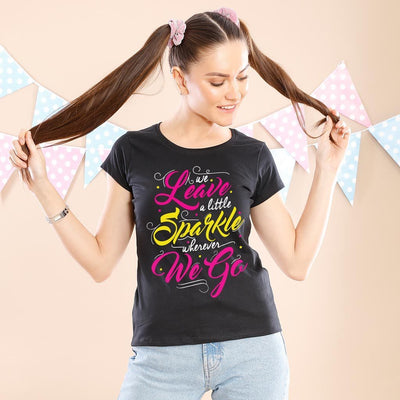 Sparkle On Mother And Daughters Tees