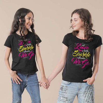 Mother-Daughter Sparkle Tees