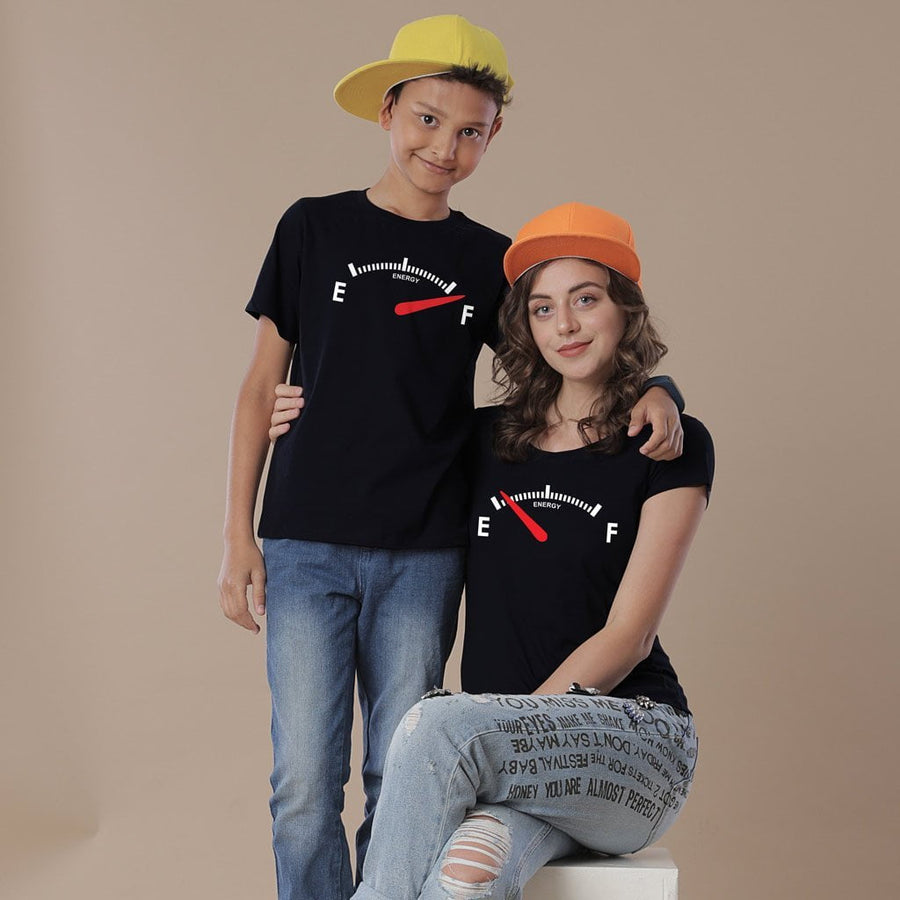 Mother Son Energy High Low Tees