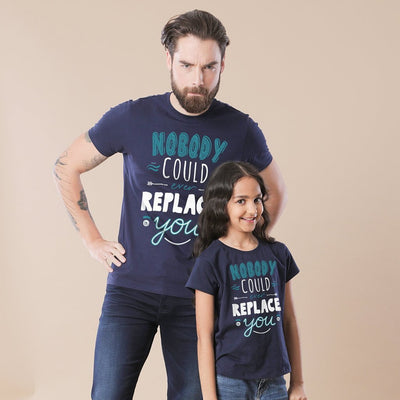 Nobody Could Replace You Dad & Daughter Matching Tshirt