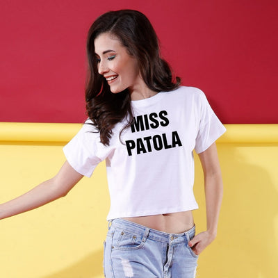 Mr Proper, Miss Patola, Matching Top For Men And Crop Top For Women