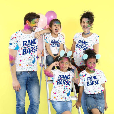 Rang Barse, Matching Tees For The Family
