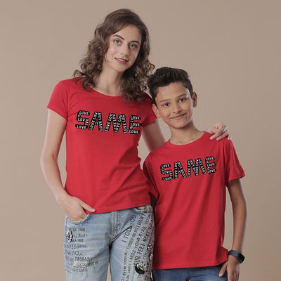 Same Same, Mom And Son Tees