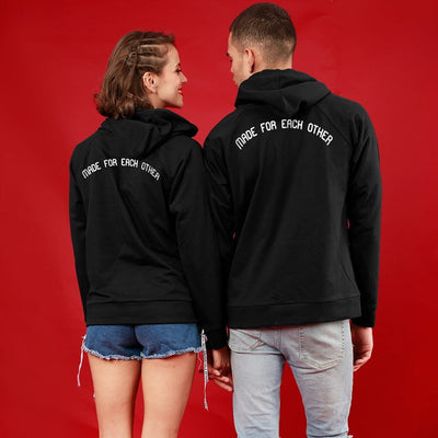 Something Just Like This, Matching Black Hoodies For Couples