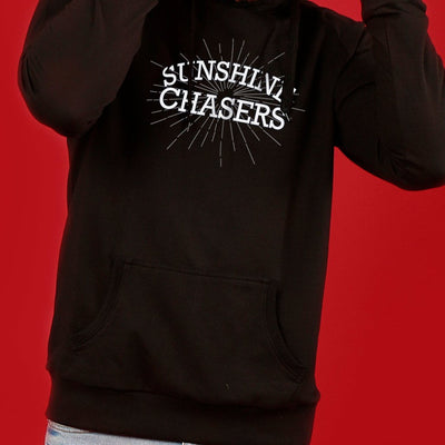 Sunshine Chasers (Black), Matching Hoodies For Couples