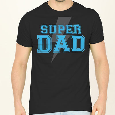 Lightning Bolt Dad And Daughter Matching Tees