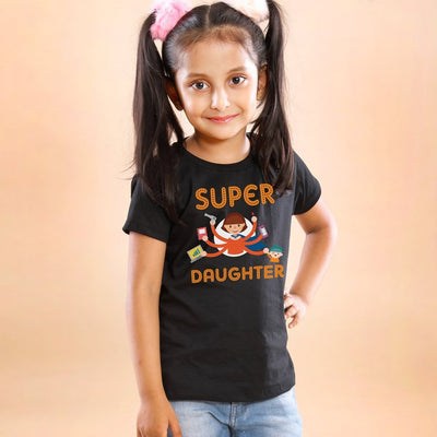 Super Mom And Daughters Tees