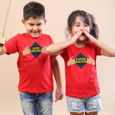 Super Always, Matching Tees For Brother And Sister