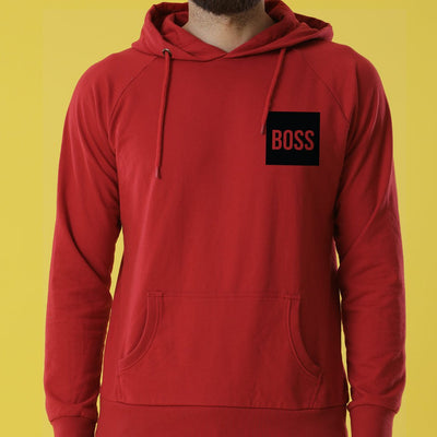 The Real Boss,Matching Hoodies For Couples